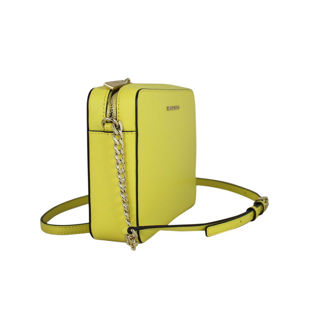 Shoulder bag in saffiano leather Yellow Michael Kors