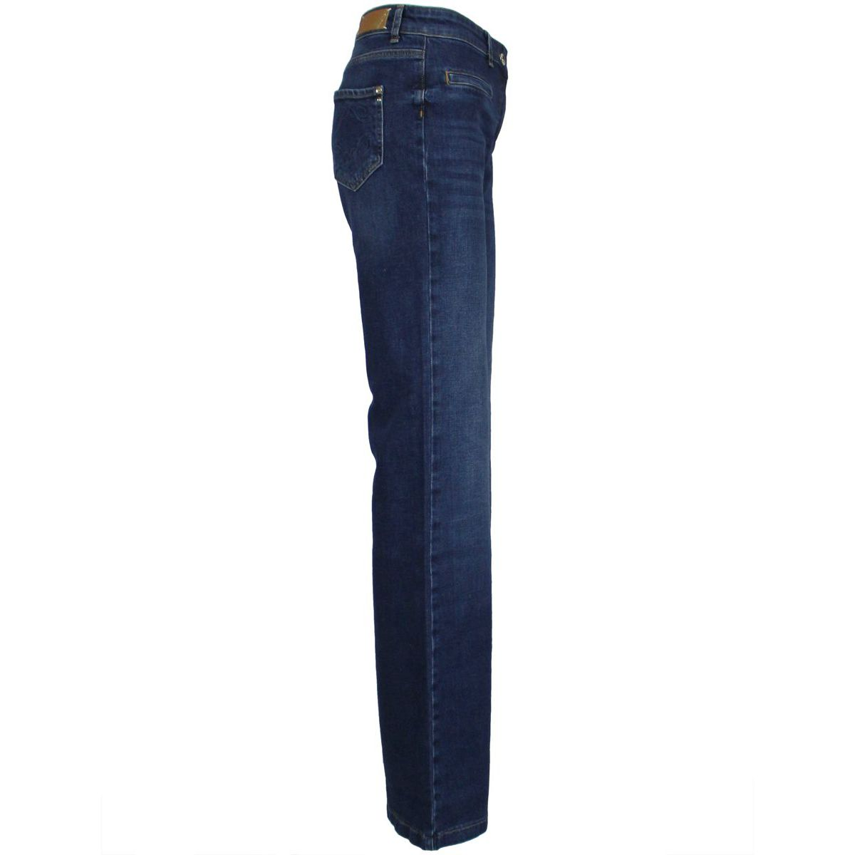 Flared jeans with pockets Medium denim Patrizia Pepe