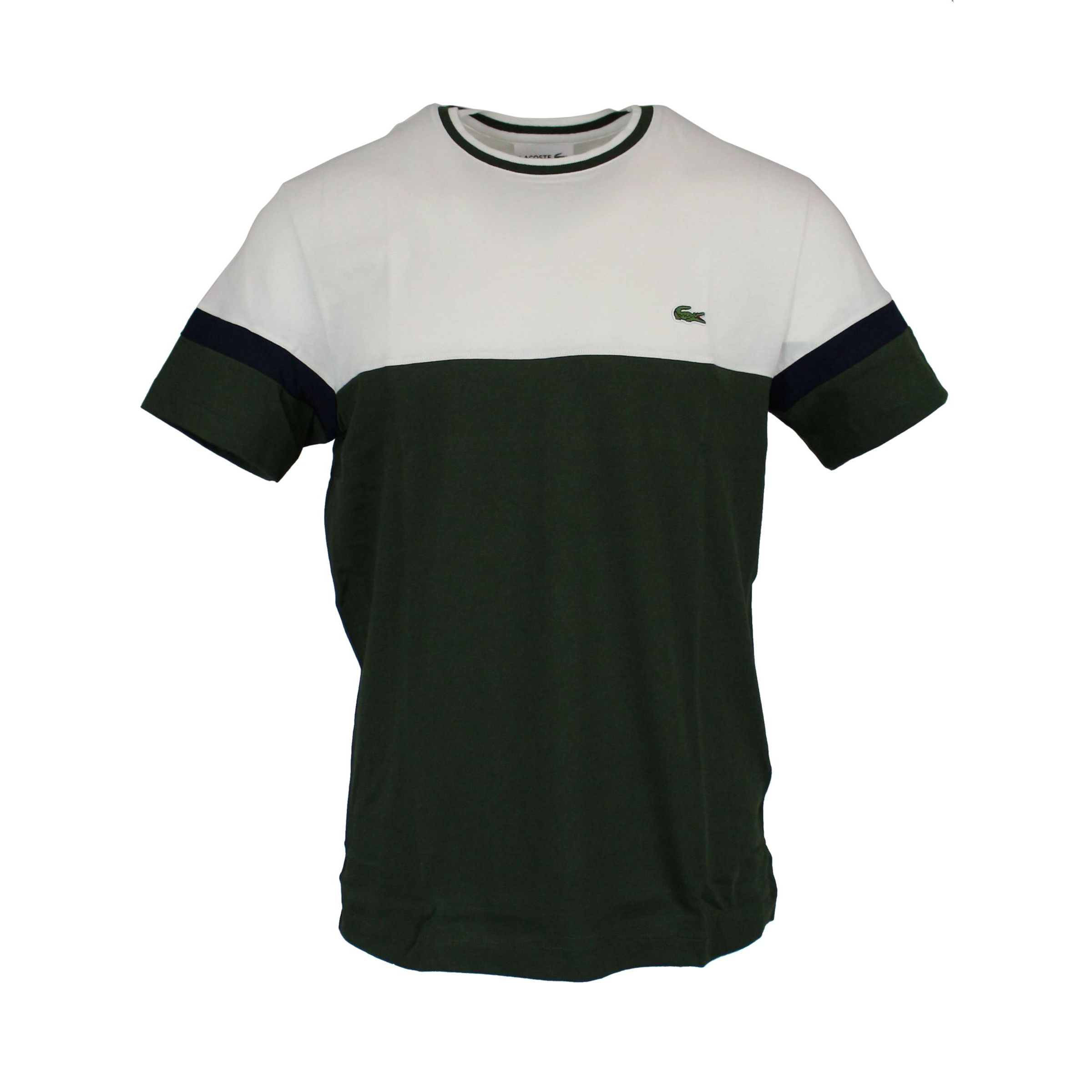 578ae267 T-shirt in two-tone cotton