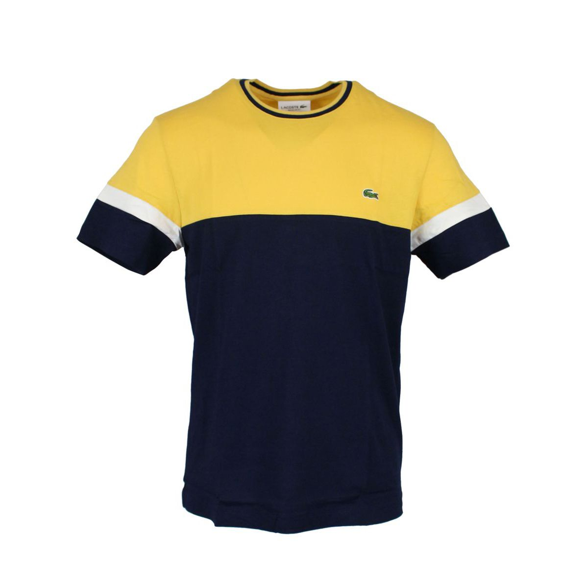 T-shirt in two-tone cotton Sunflower Lacoste