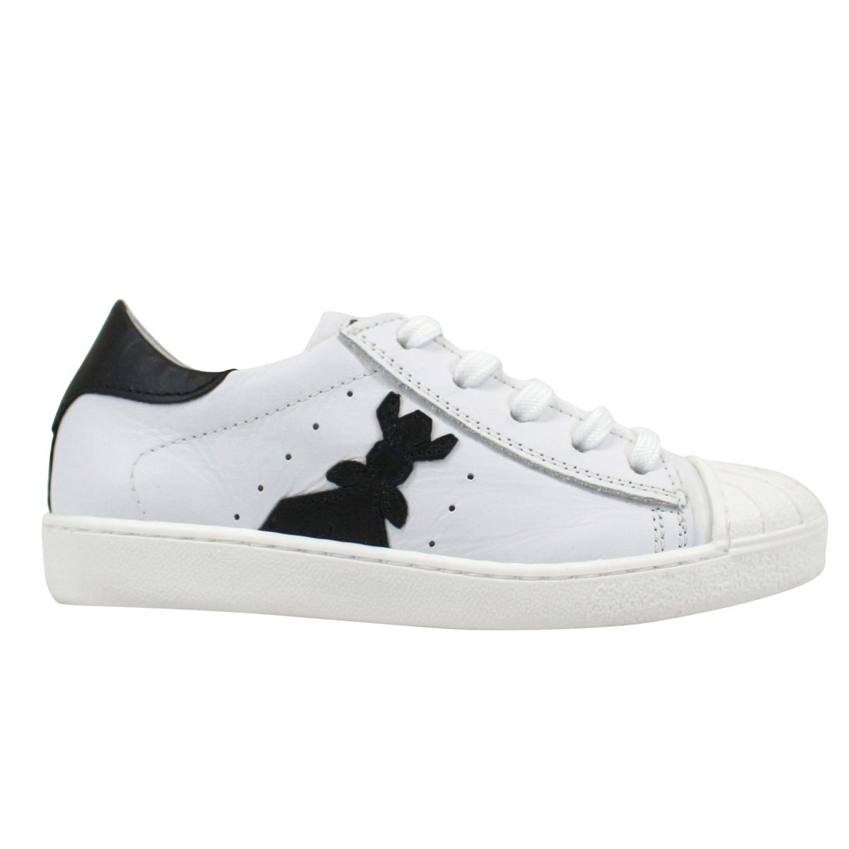 Low sneakers White black Patrizia Pepe