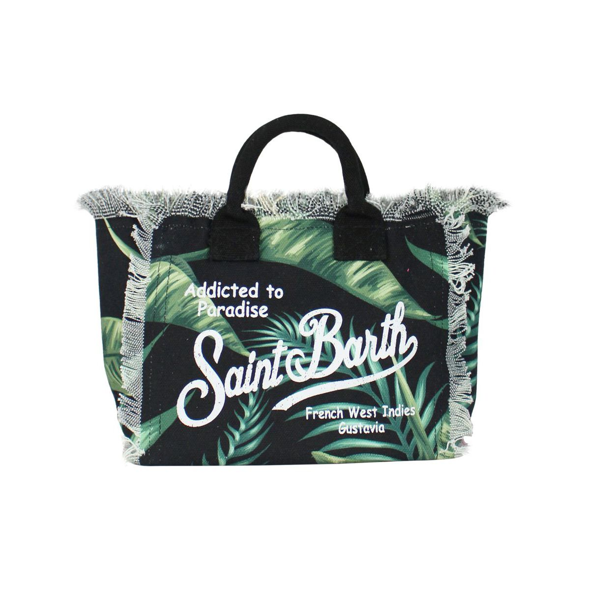 Heliconia bag with print Black MC2 SAINT BARTH
