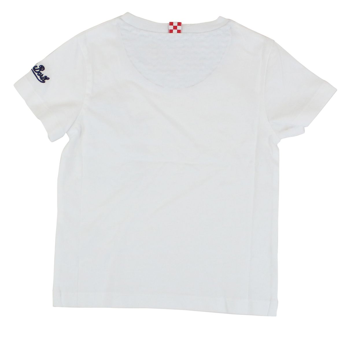 Avocado pocket t-shirt White MC2 Saint Barth