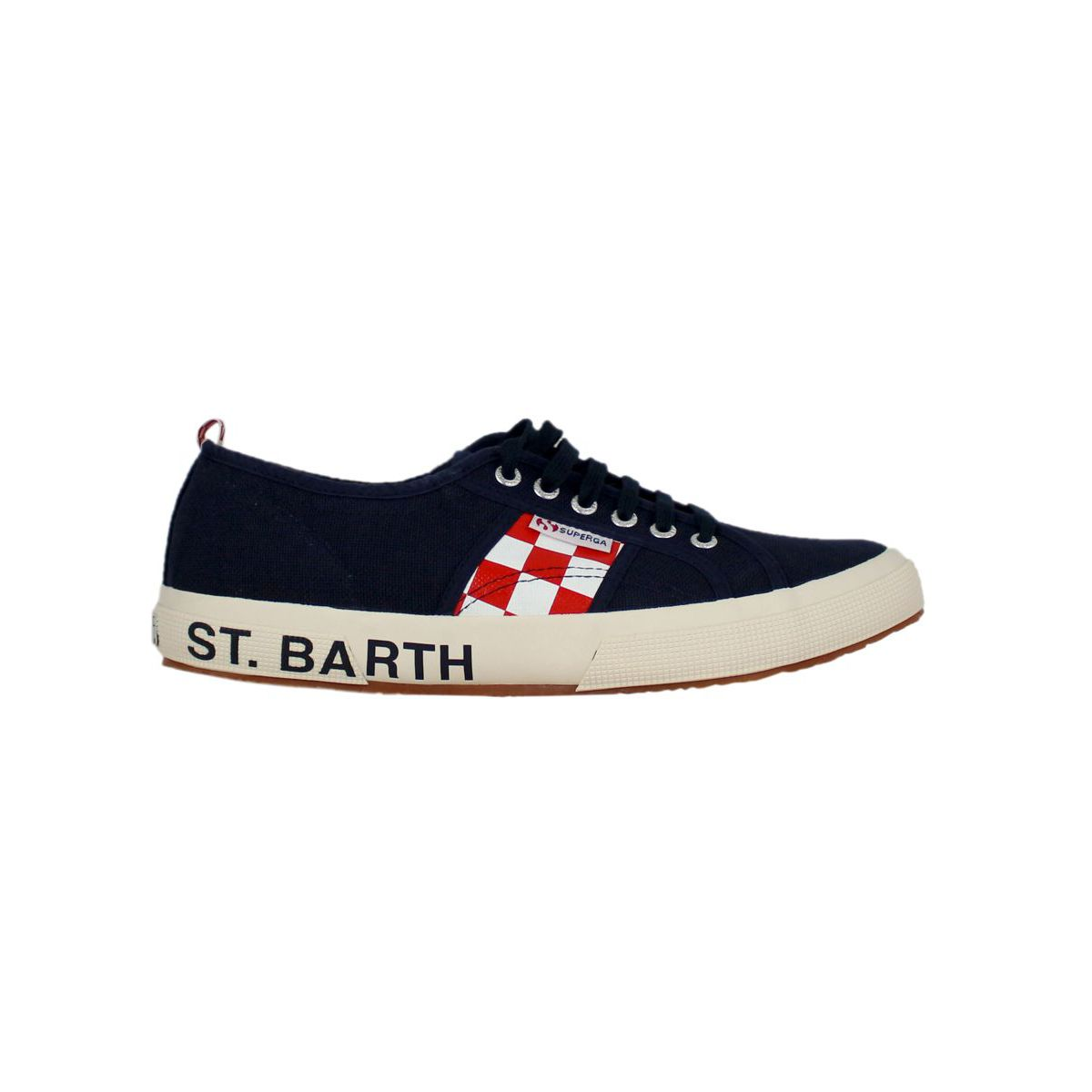 Sneakers in collaboration with St. Barth Navy MC2 SAINT BARTH