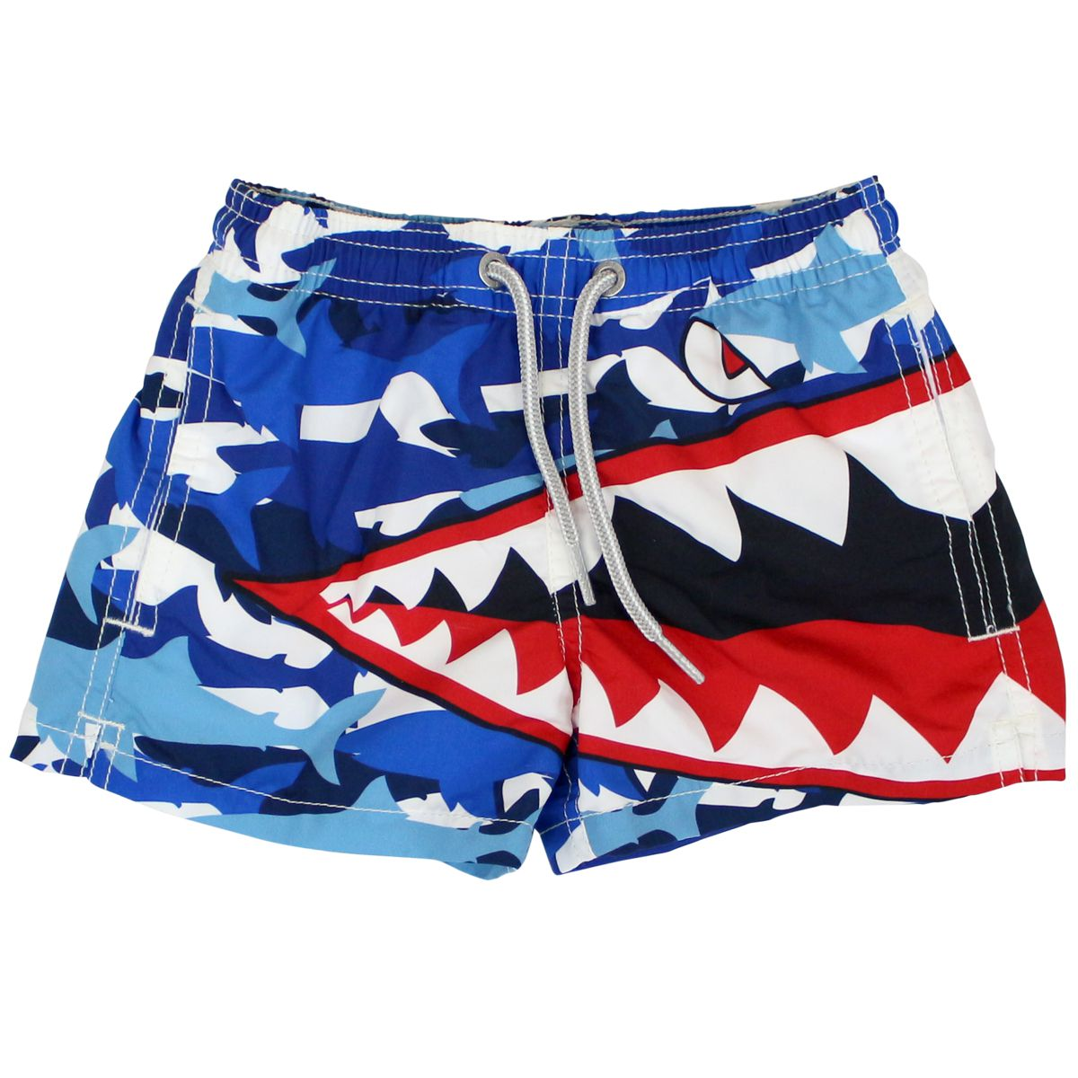 Haiti costume with shark camouflag print Multicolor MC2 Saint Barth