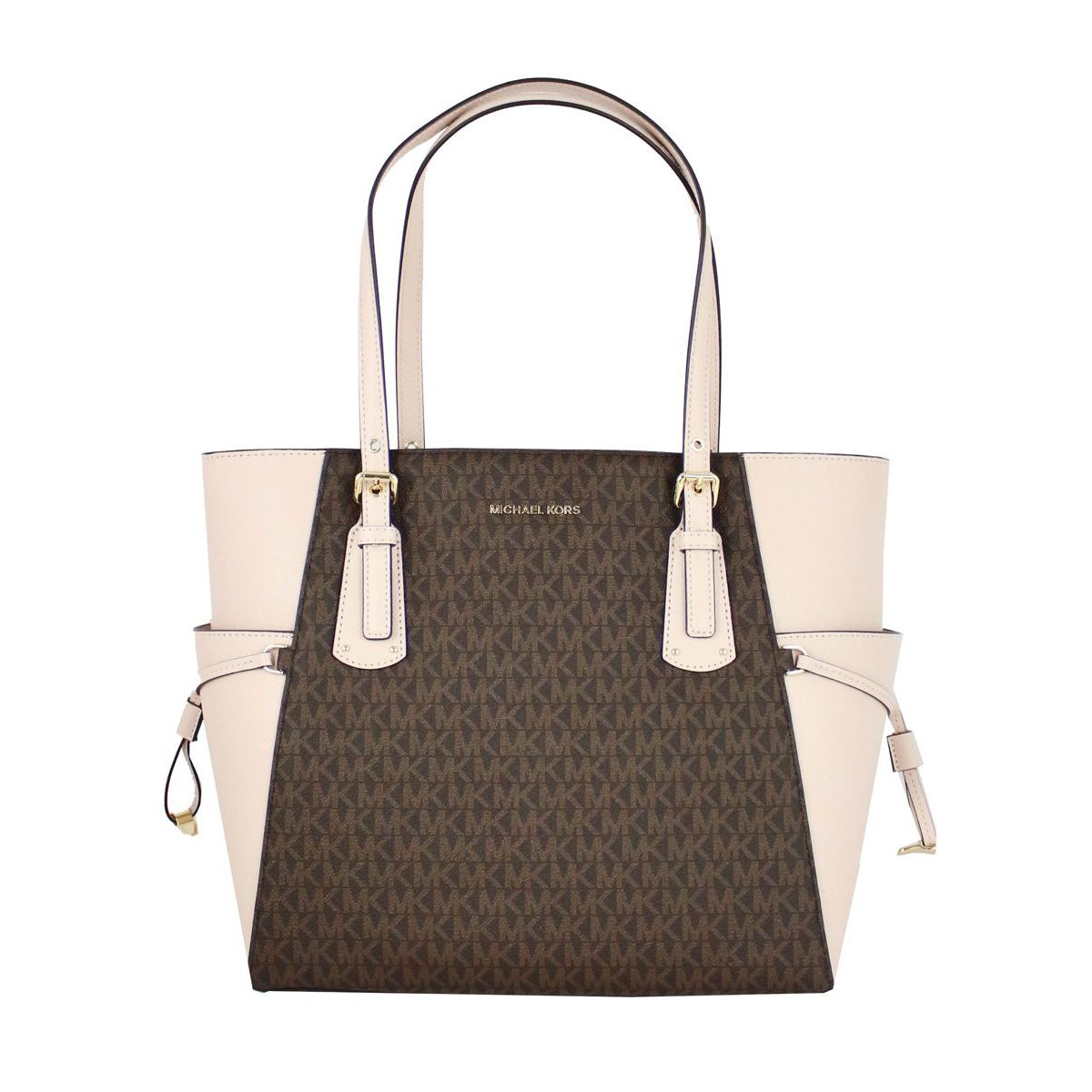 Voyager Tote bag Brown / pink Michael Kors