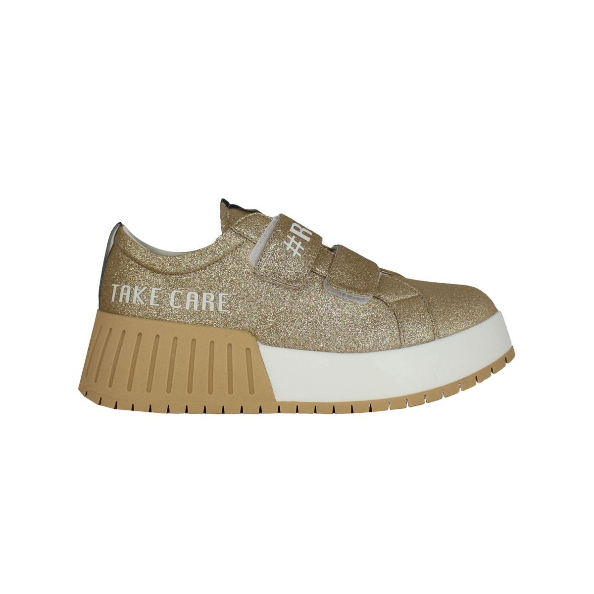 Glitter Chic Sneakers Gold RUCOLINE