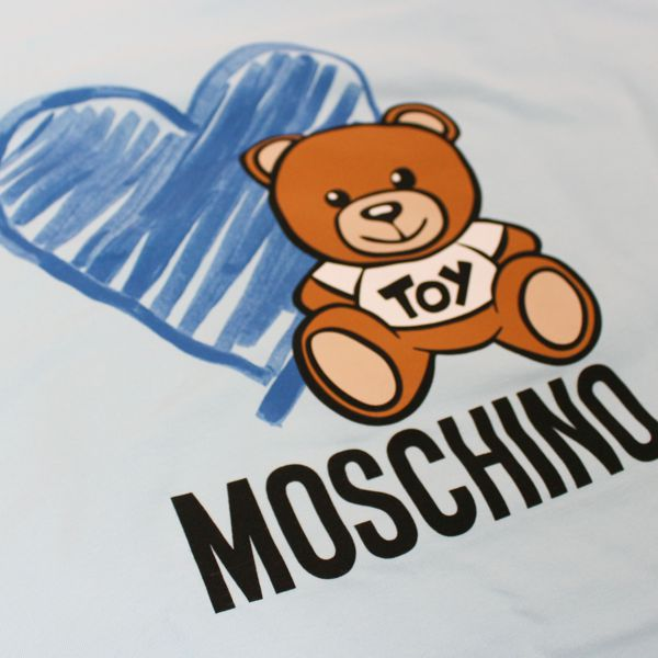 Cover with Teddy Bear print Heavenly Moschino