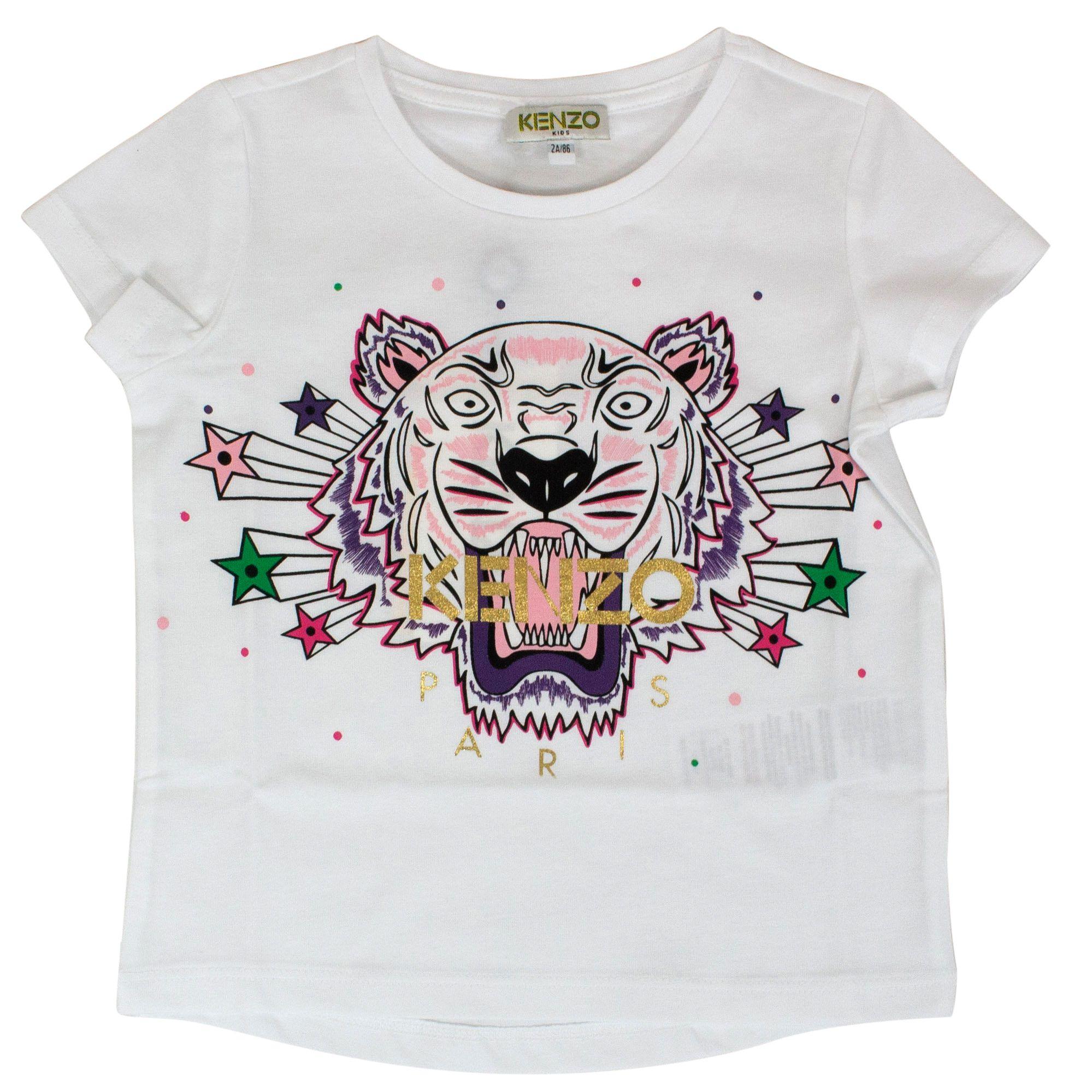 fda0029a Tiger print t-shirt with stars