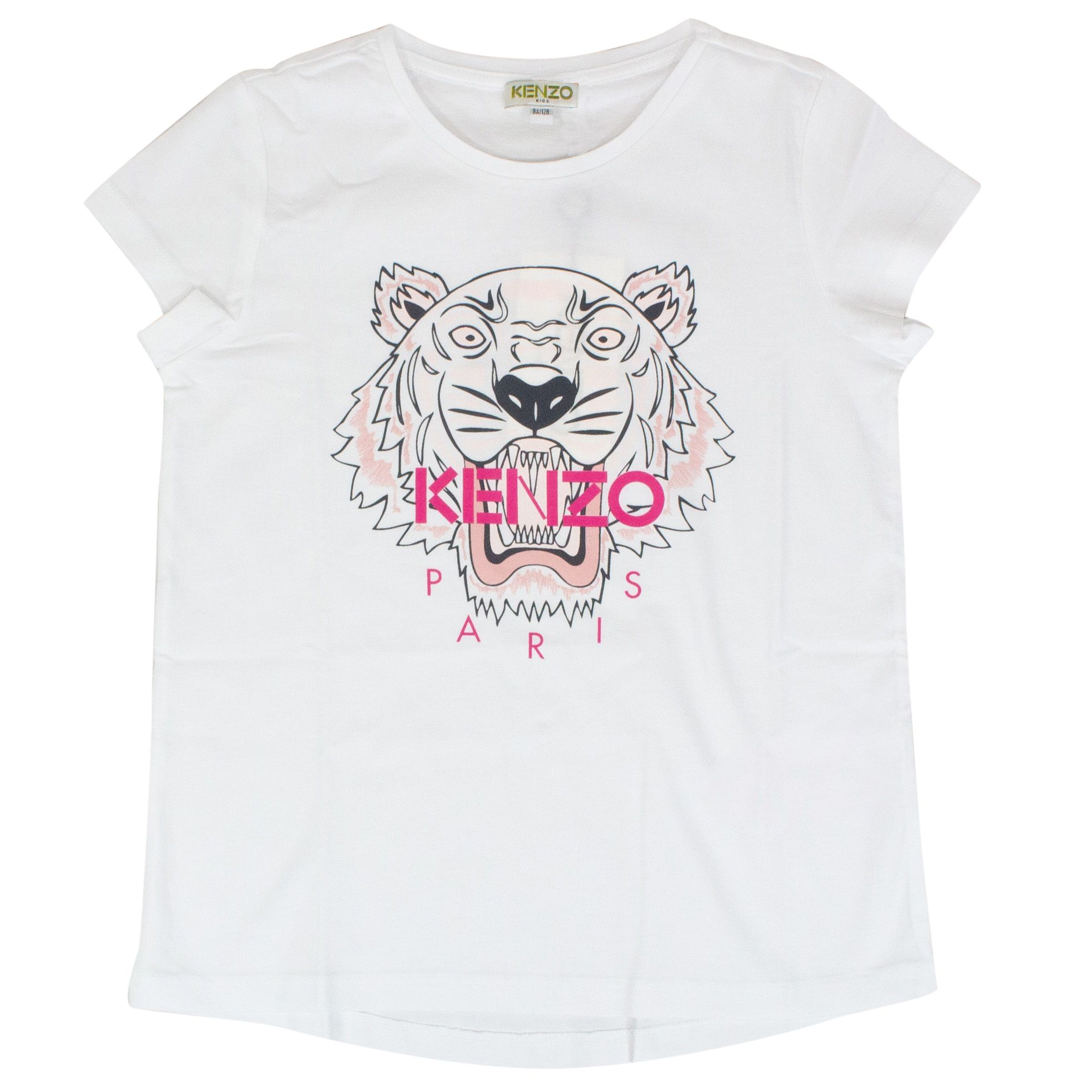 b947ad7e2 T-shirt with contrasting Tiger print
