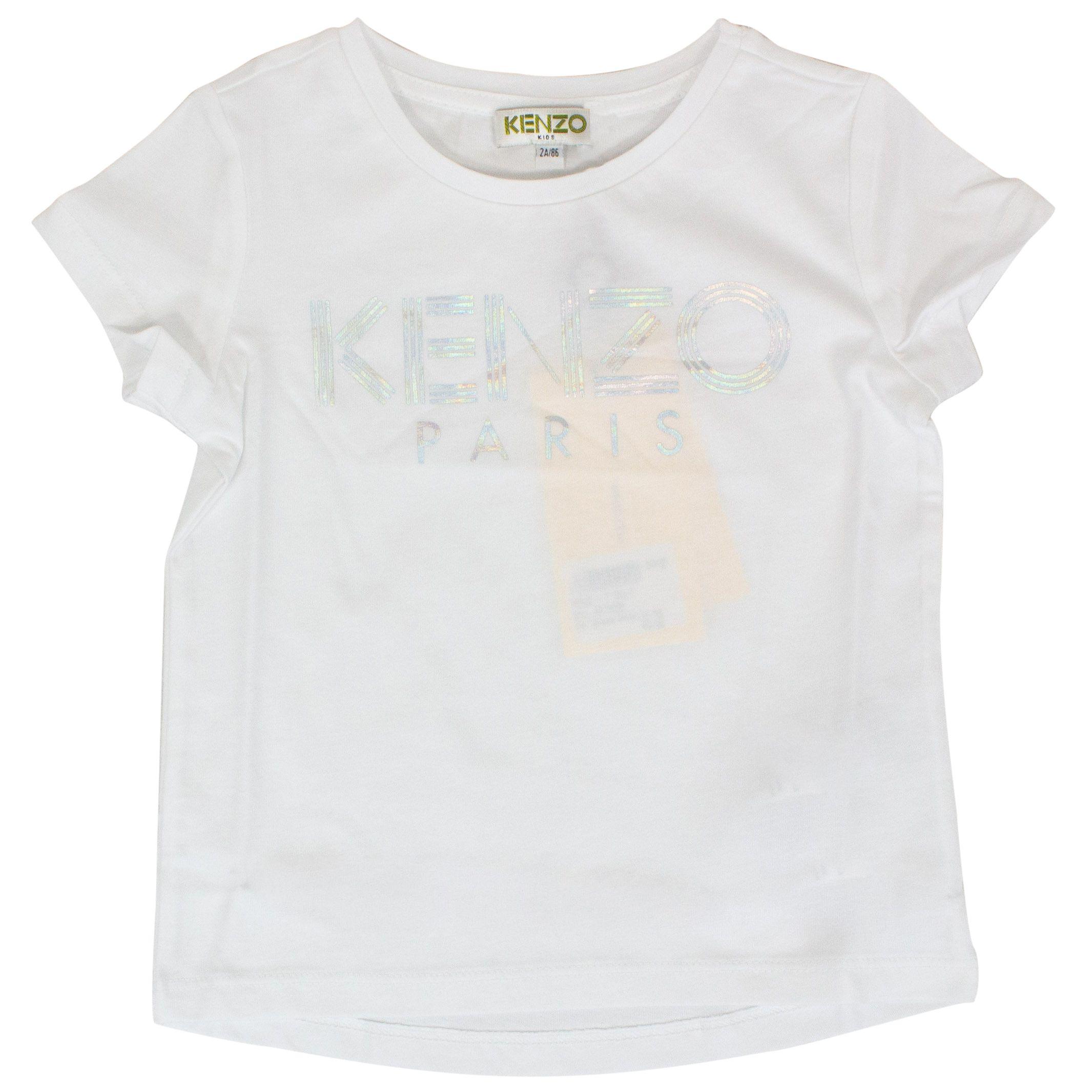 20b1093c T-shirt with laminated logo print