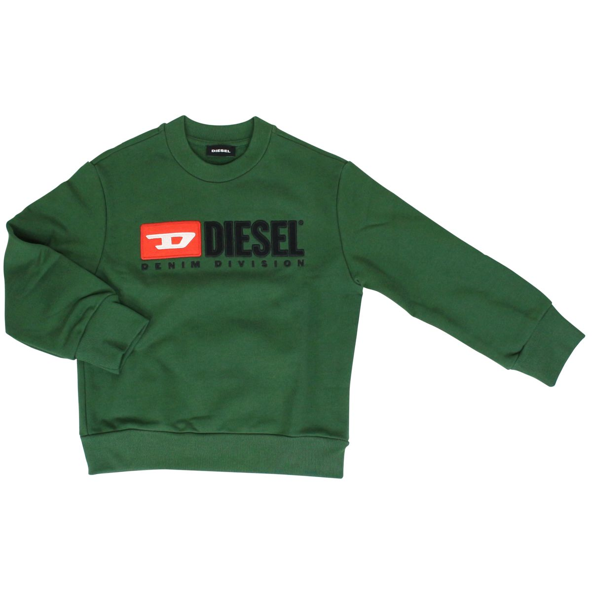 35bc5551 Crew-neck cotton sweatshirt with logo patch