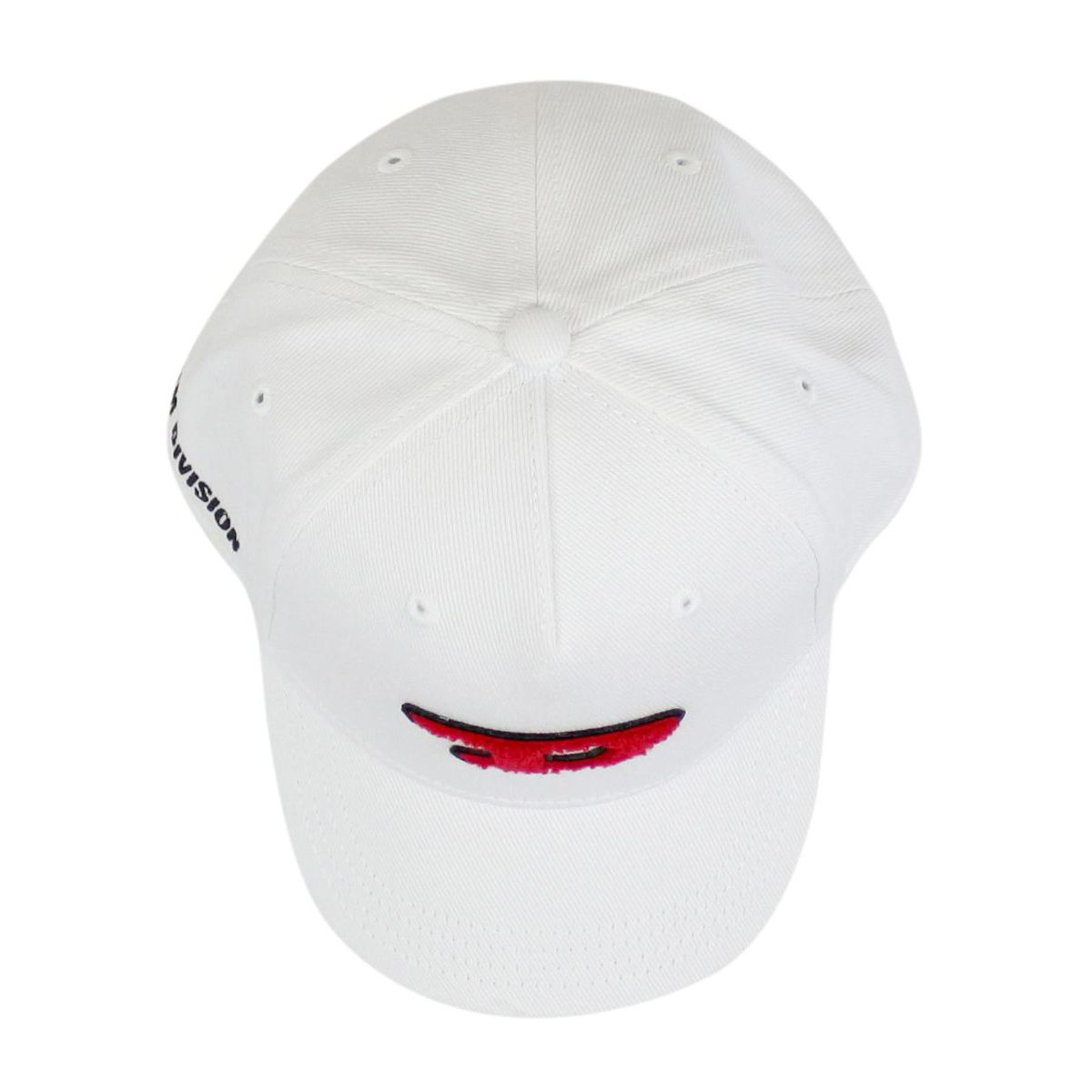 Cotton cap with visor and logo White Diesel