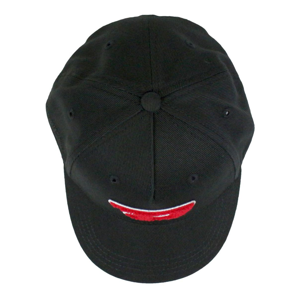 Cotton cap with visor and logo Black Diesel