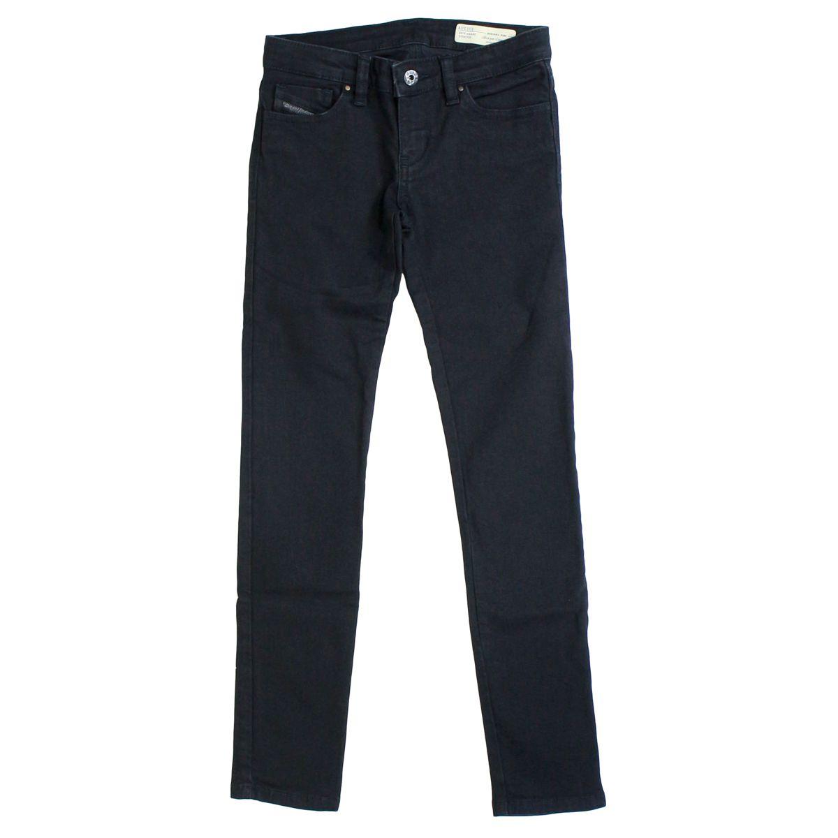 Slim-fit jeans 5 pockets Black Diesel