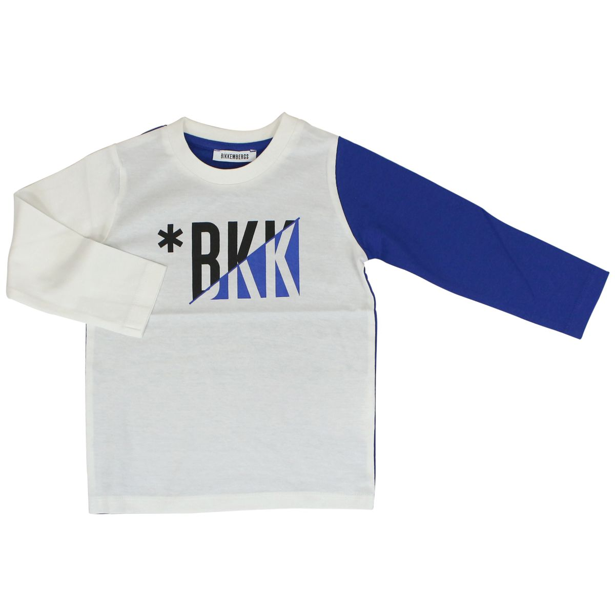 Sweater with sleeves White / blue Bikkembergs