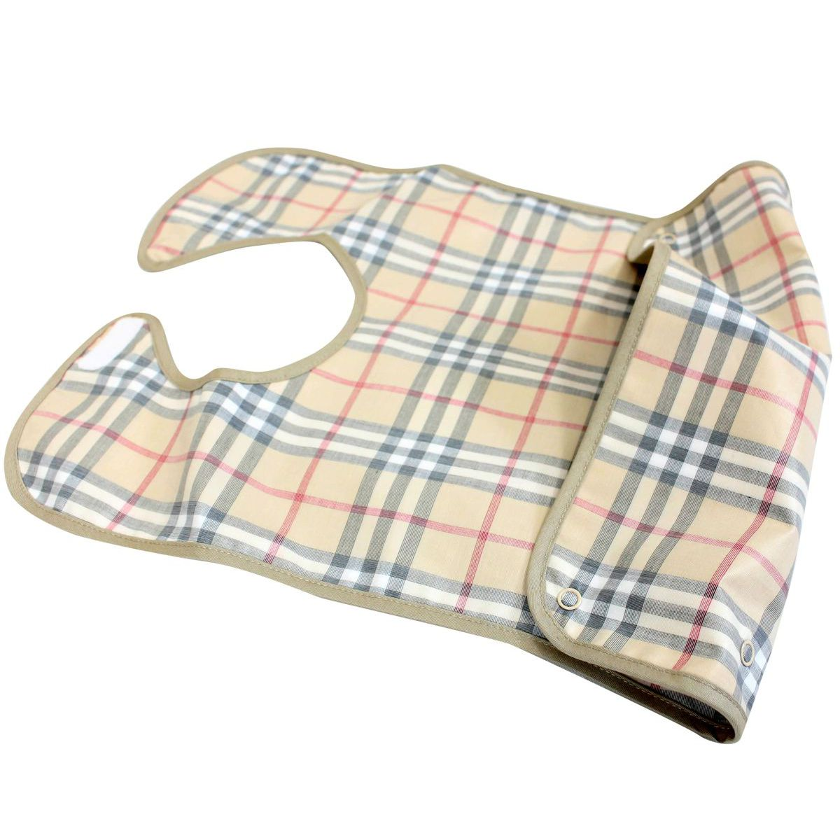 Check pattern bib Beige check Burberry