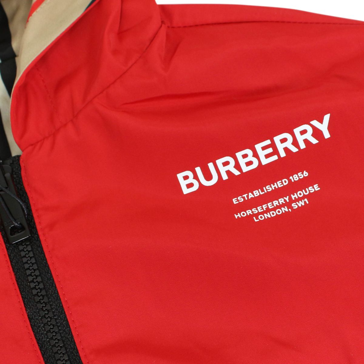 Tommy Icon double-face jacket Red Burberry