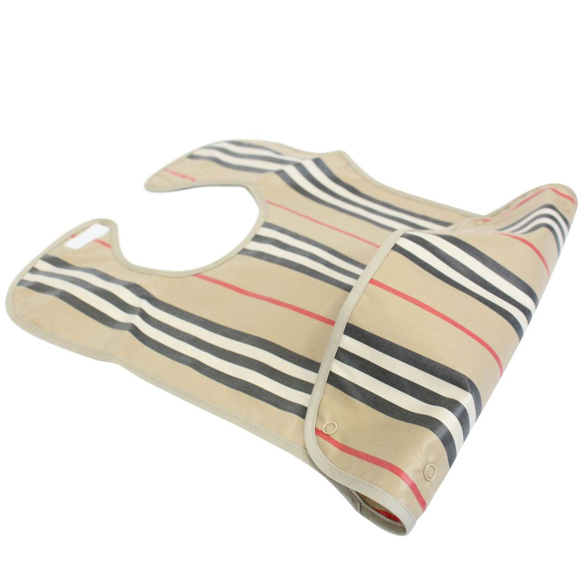 Bib Icon Bib with check pattern Beige check Burberry