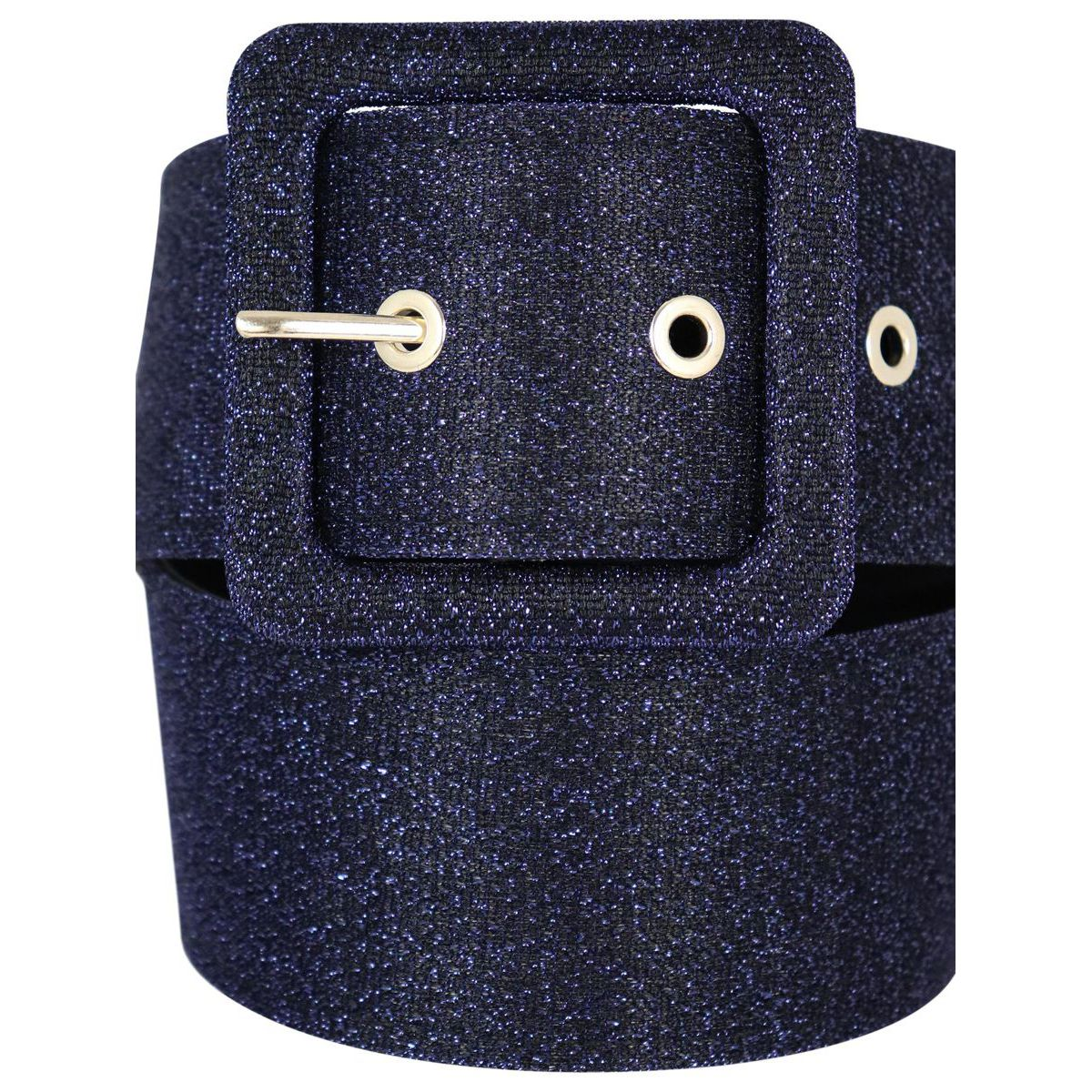 Glitter belt with buckle Blue Nenette