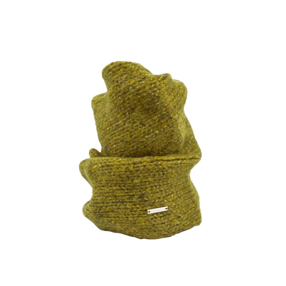 Wool blend Oleander scarf Oil Nenette