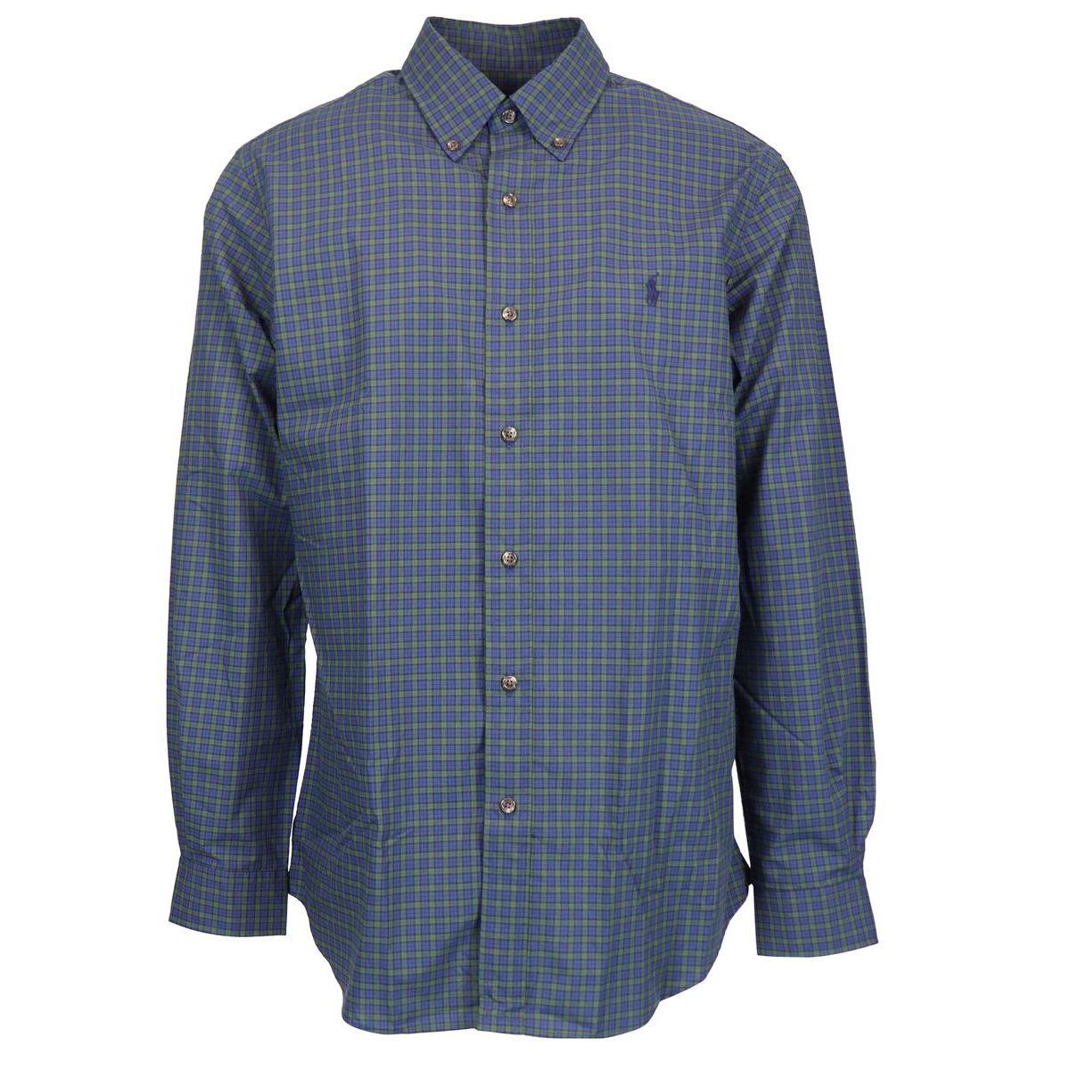 Tartan patterned button-down shirt Green pictures / bl Polo Ralph Lauren