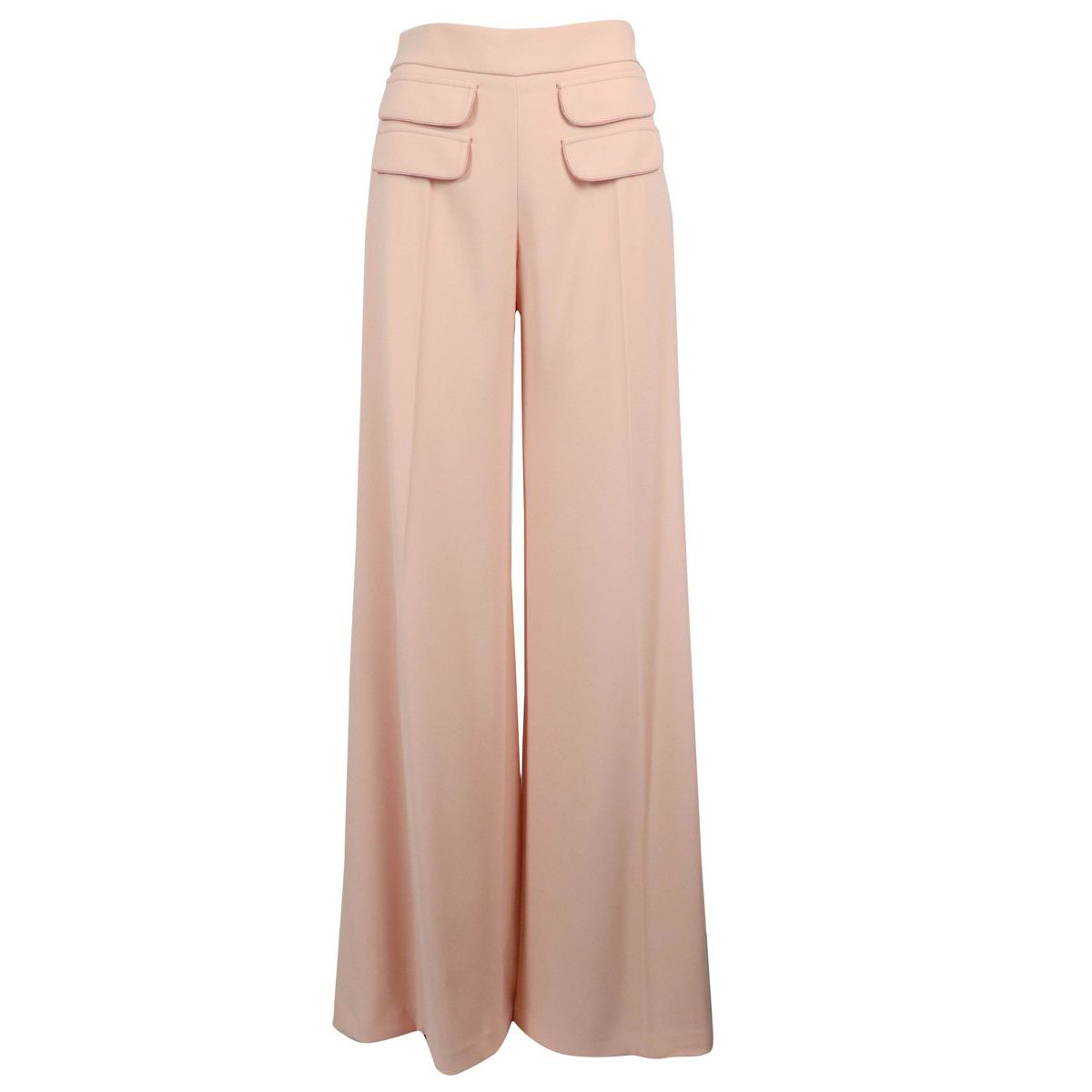Palazzo trousers with front pockets Antique pink Elisabetta Franchi