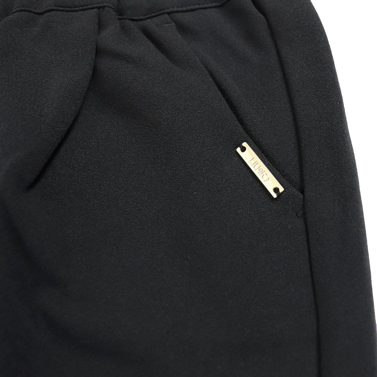 Jojjing trousers with elastic and coulise Black Liu Jo