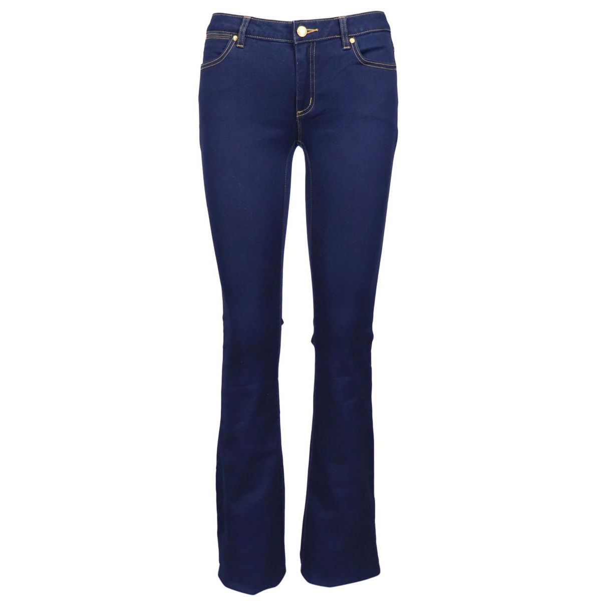 Slim elastic bell-bottom jeans Denim Michael Kors