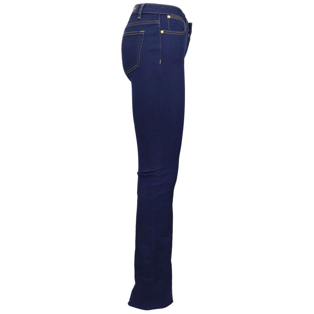 Slim elastic bell-bottom jeans Denim Michael Kors