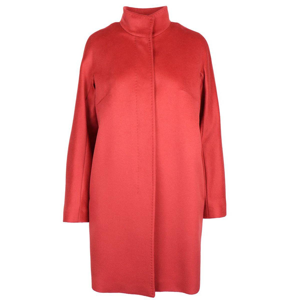 Virgin wool coat MELINA Brick Max Mara
