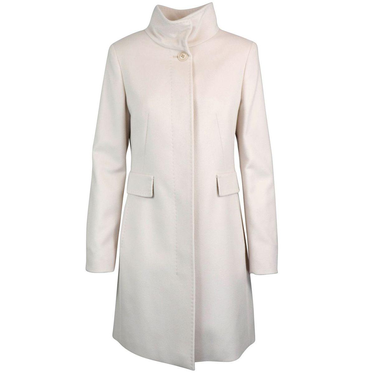 AGNESE virgin wool coat Butter Max Mara
