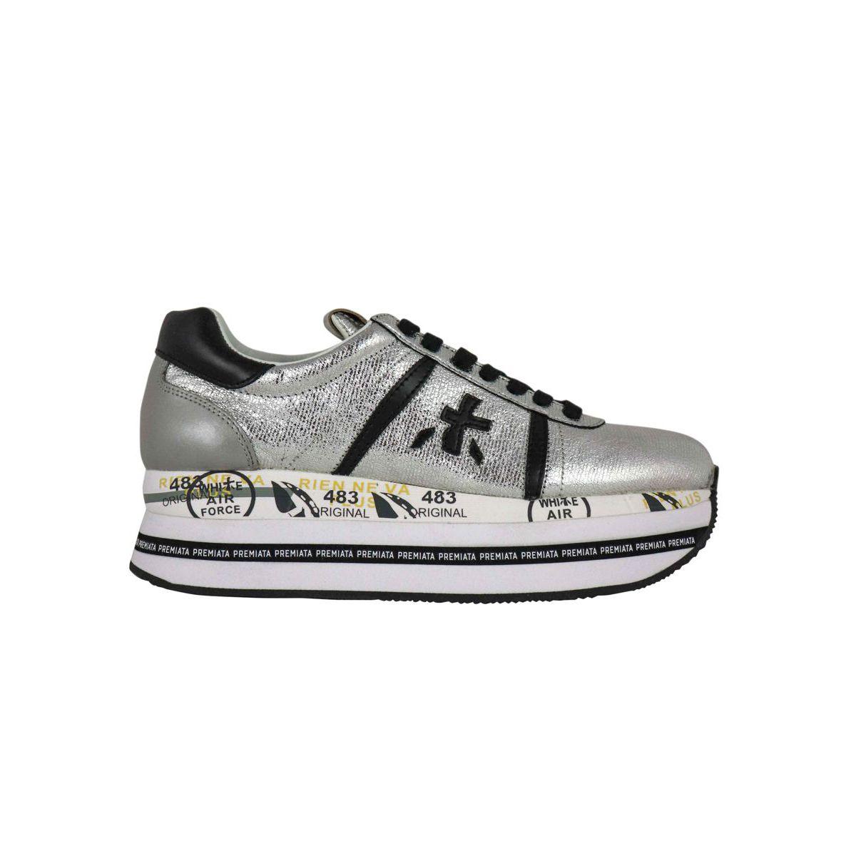 Beth 3643 Sneakers Silver Premiata