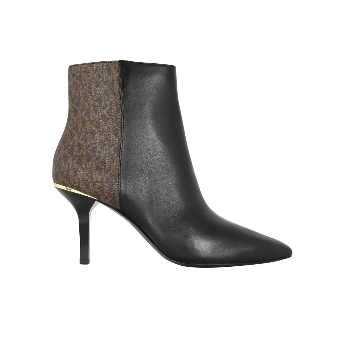 Katerina bootie Brown / black Michael Kors