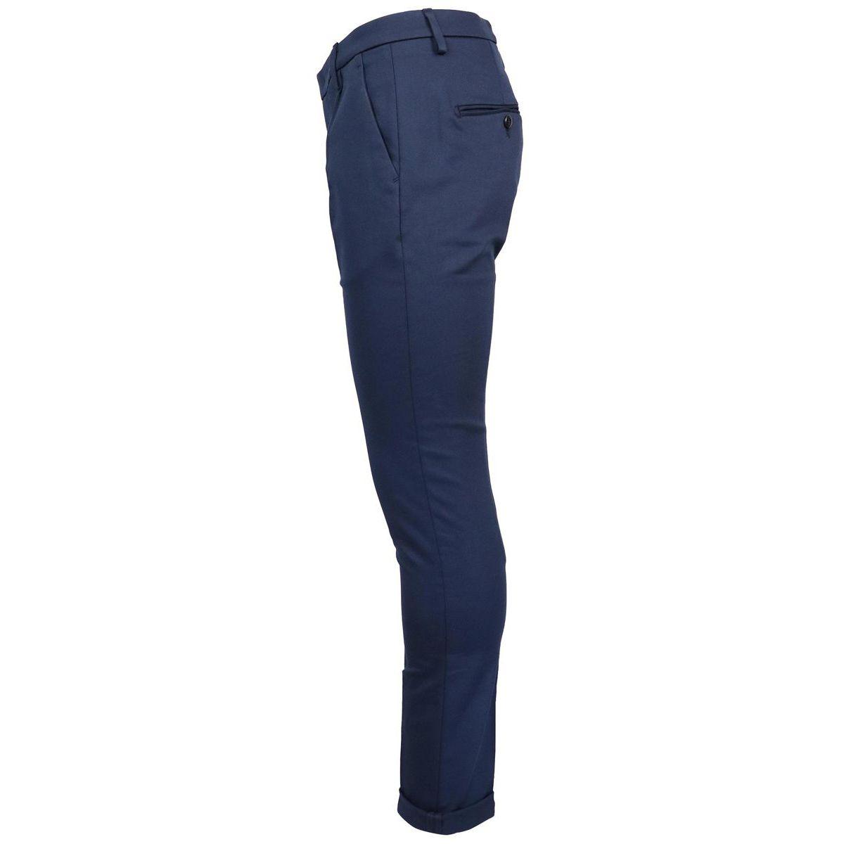 Gaubert trousers pocket america Blue Dondup