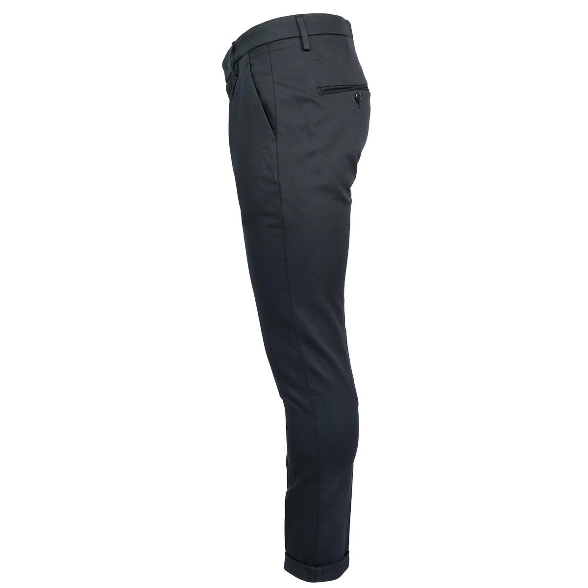 Gaubert trousers pocket america Black Dondup