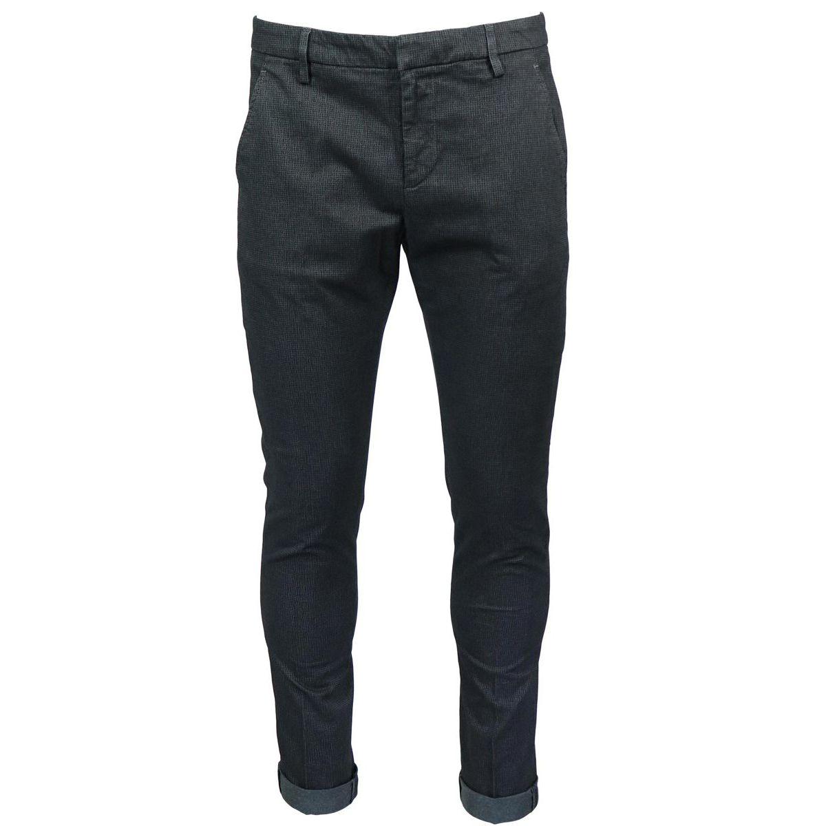 Gaubert Tasca stretch pants Black Dondup