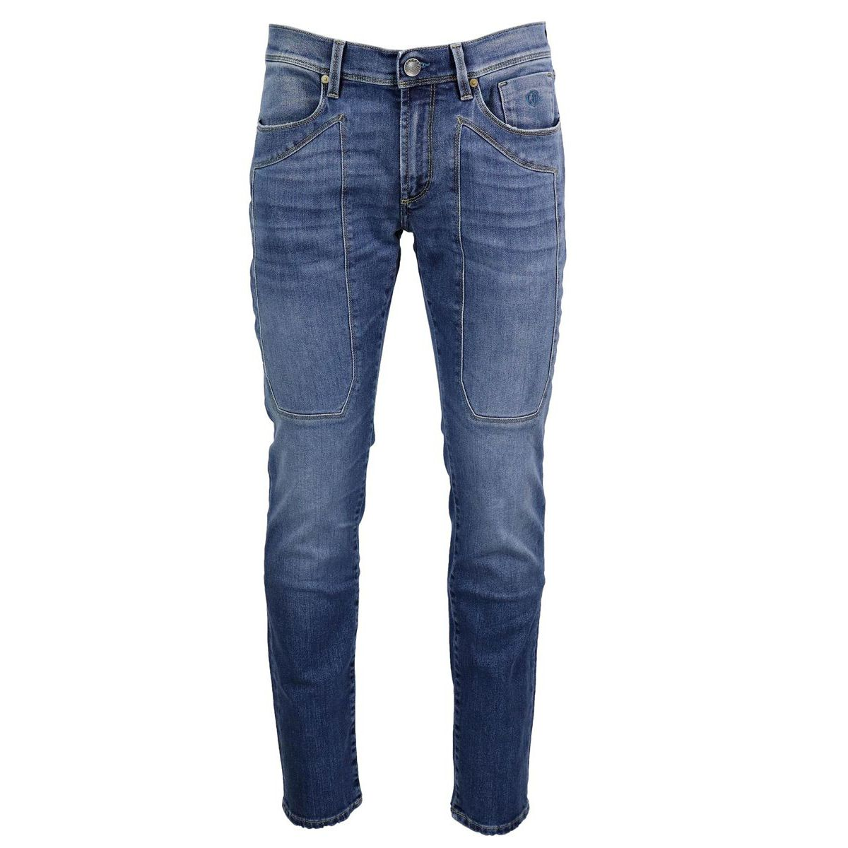 Slim jeans with 3Blend patch Light denim Jeckerson