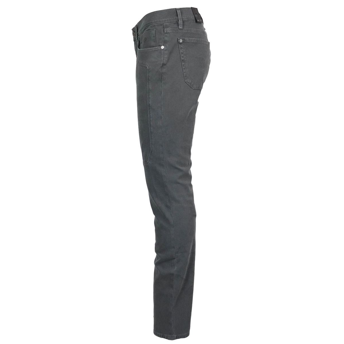 Slim pants with dyeing patch Dark gray Jeckerson
