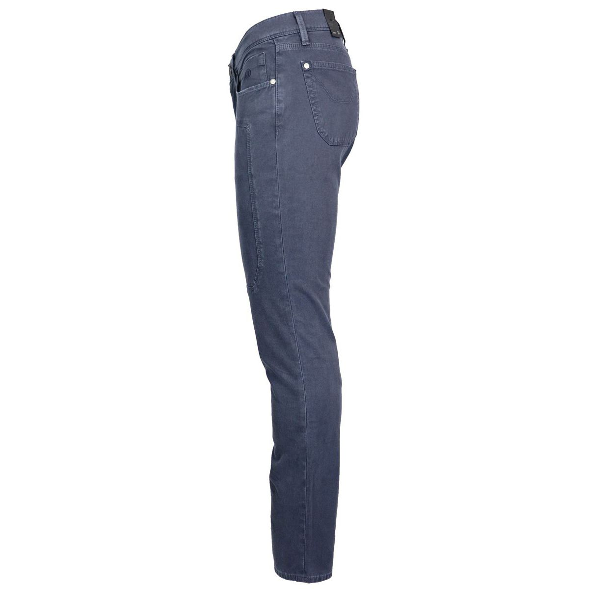Slim pants with dyeing patch Navy Jeckerson