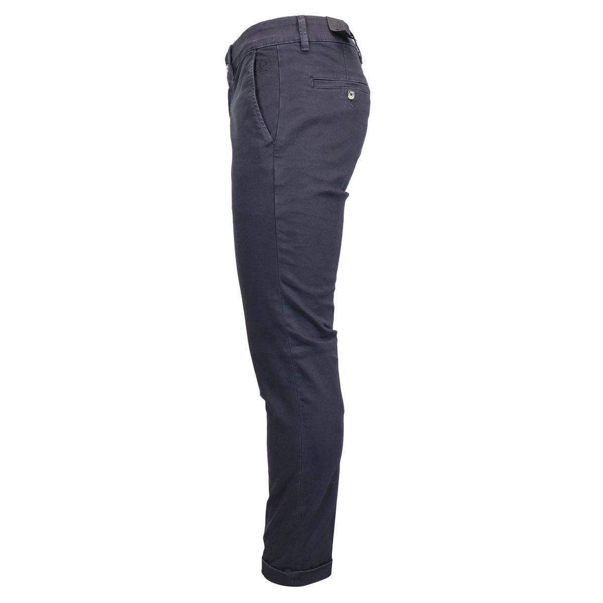 Cotton chino trousers with america pockets Blue Jeckerson