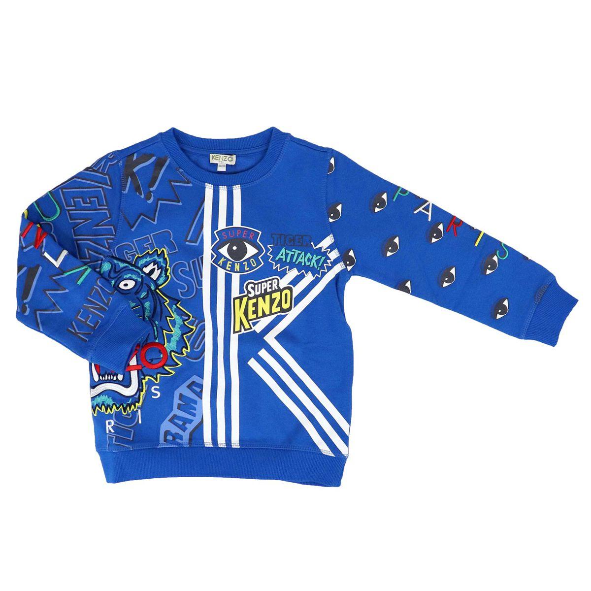 Goddard cotton blend sweatshirt Electr. blue Kenzo