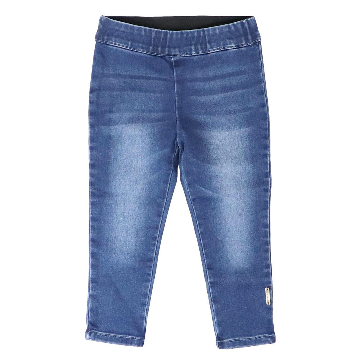 Skinny jeans in denim fleece with elastic Blue denim Liu Jo