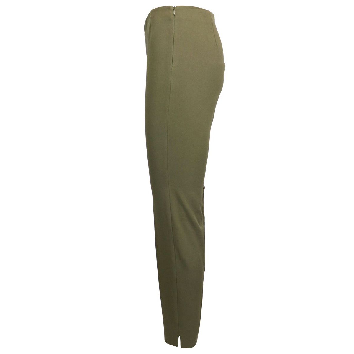 Pantalon slim à la cheville Kaki Maliparmi
