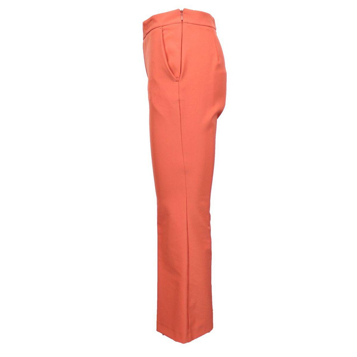 Larges poches de pantalon en bas Corallo Maliparmi