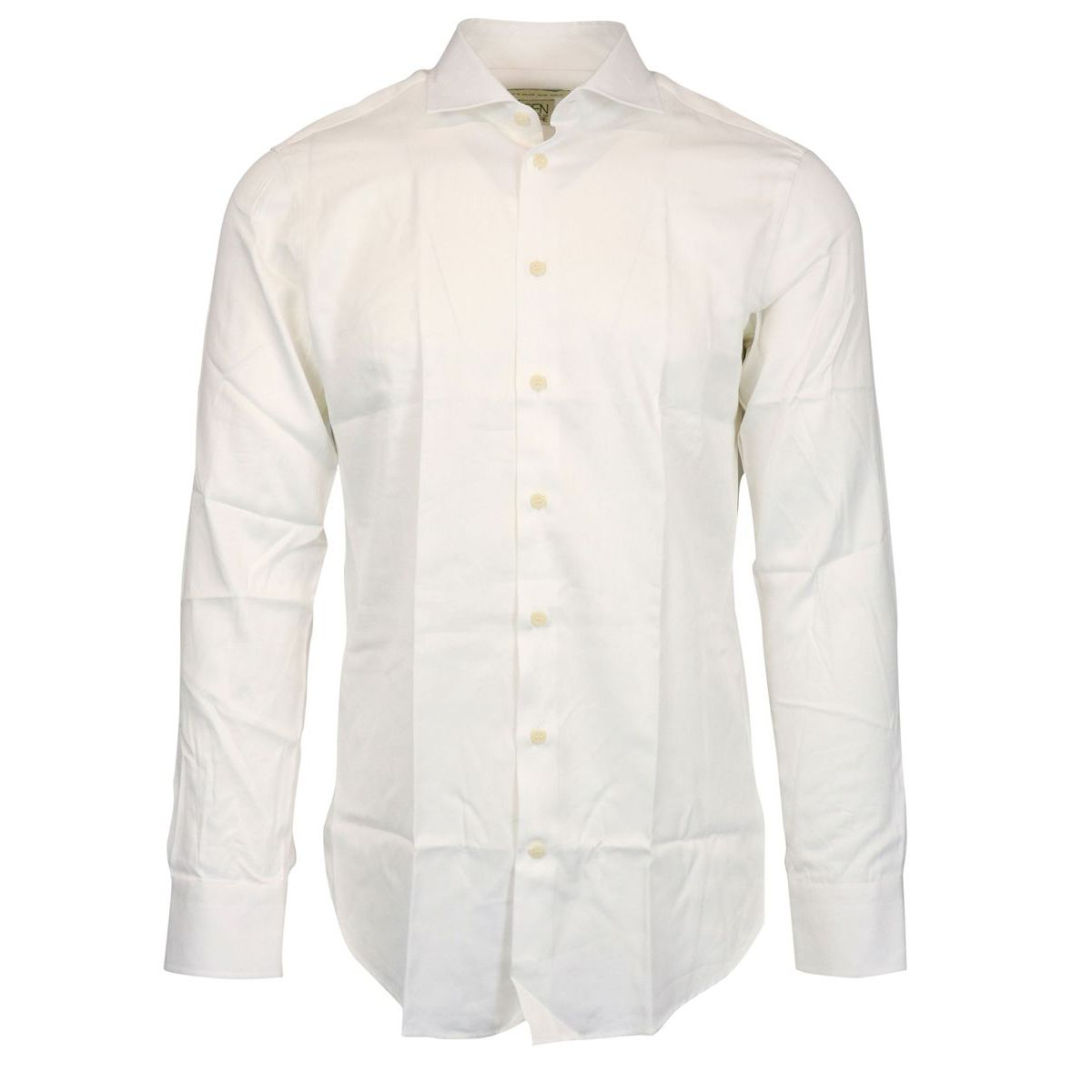Slim cotton spread shirt White Etro