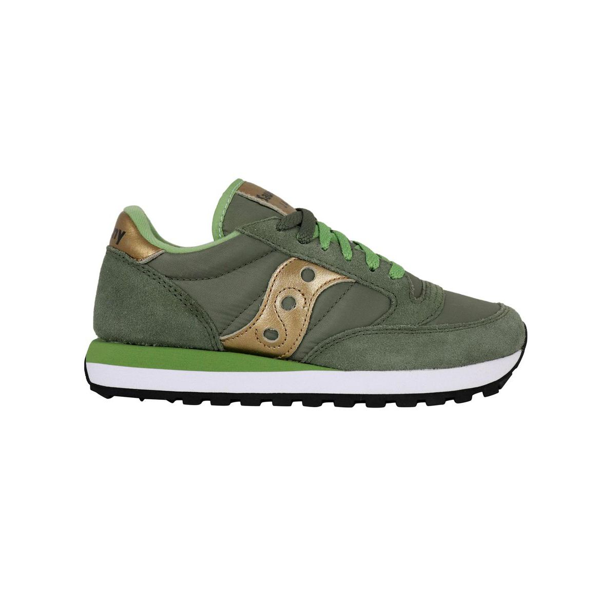 Sneakers 1044 Jazz O W Green / gold Saucony