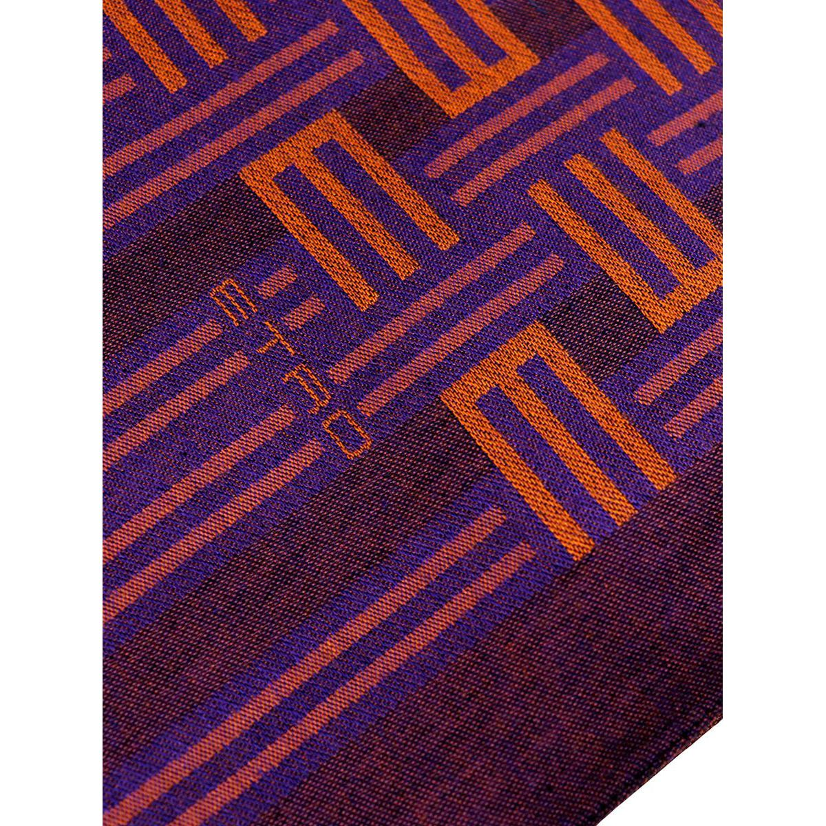 Reversible scarf in mixed modal multicolor pattern Violet Etro