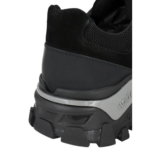 Sneakers in suede bottom 477 Black Hogan