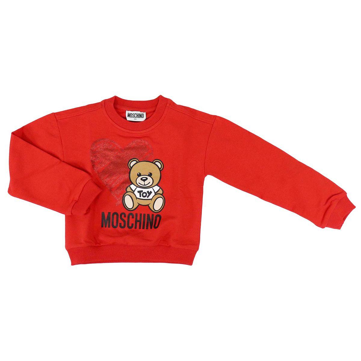 Toy stretch sweatshirt Red Moschino